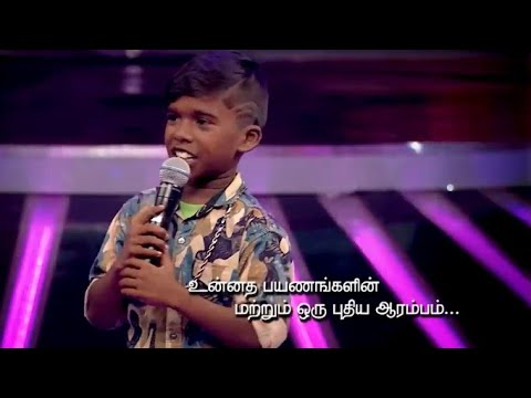 super singer vote poovaiyar