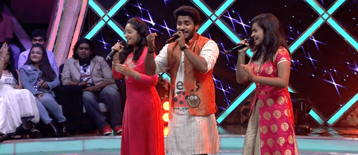 Shivangi battle with others in super singer season 7