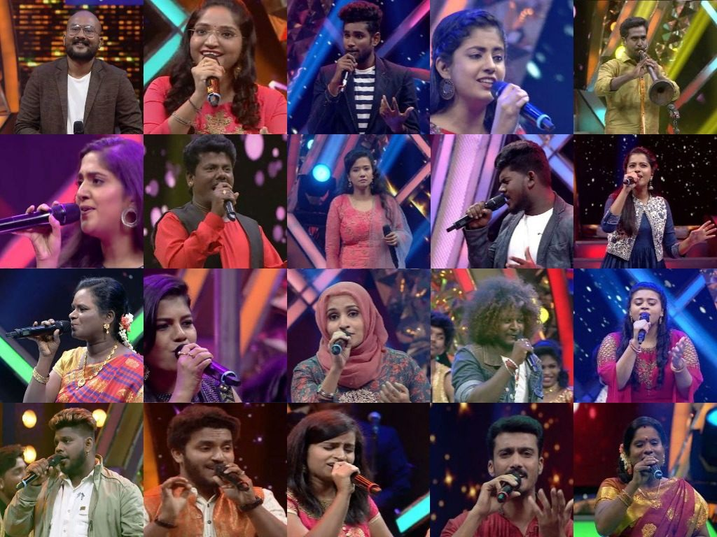 Super singer vote contestants