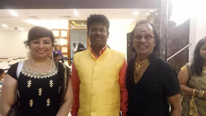 Super singer murugan with Music director