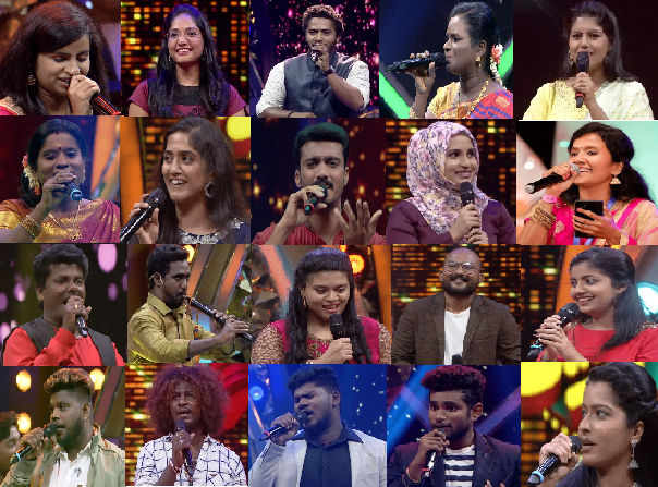 Super singer 7 all contestant images
