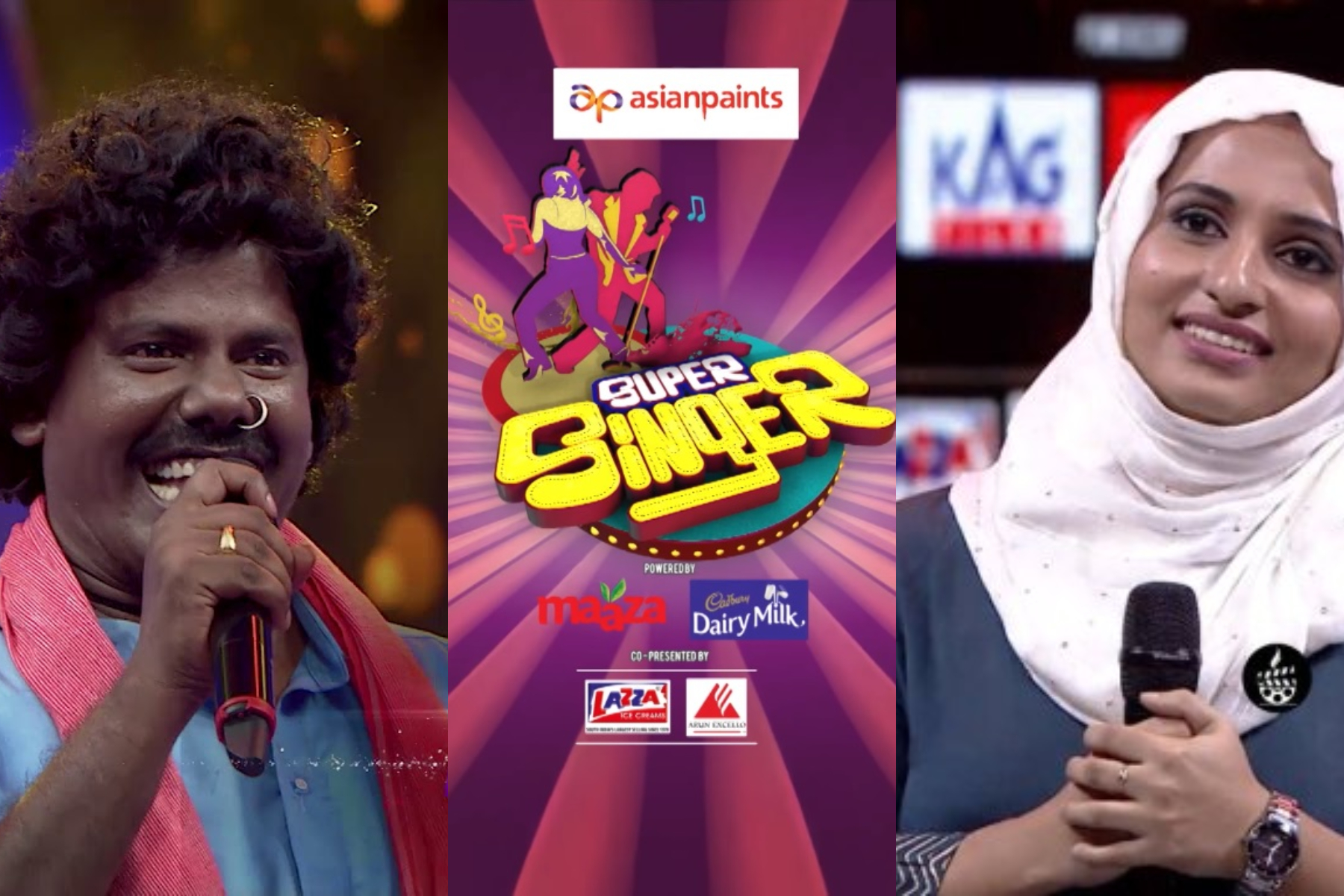 super singer vote for murugan and mufeeda