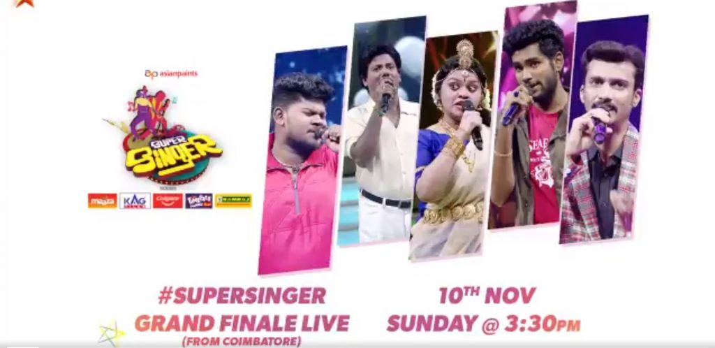 Super singer latest nominations Finale week