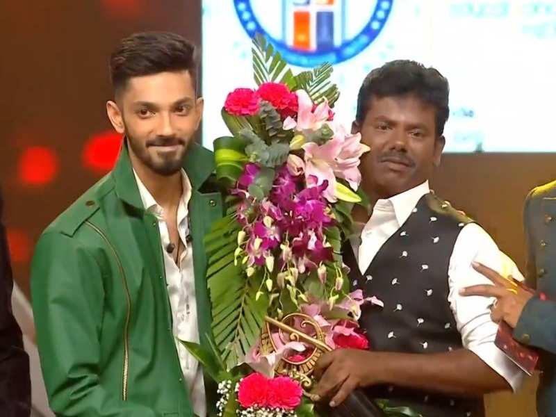 super singer season 7 winner murugan with anirudh