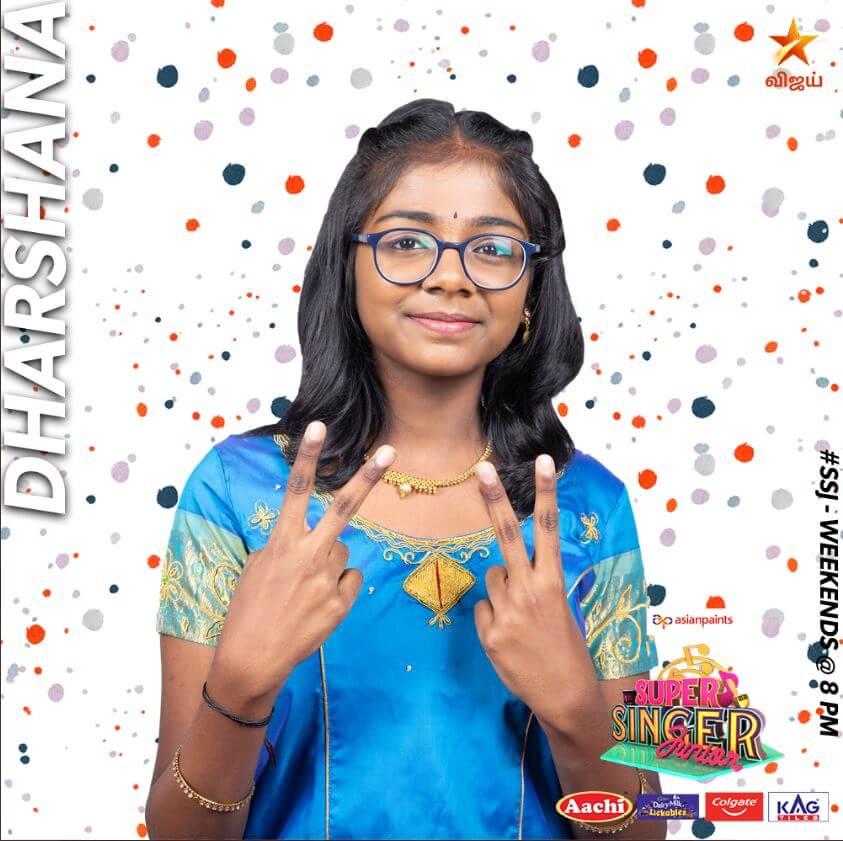 Dharshana Super singer Junior 7 Contestant 2020