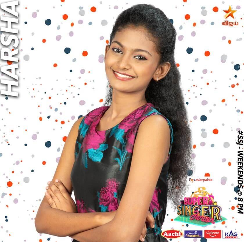 Super singer vote for Harsha
