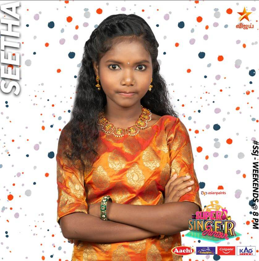 Seetha Super singer Junior 7 Contestant 2020
