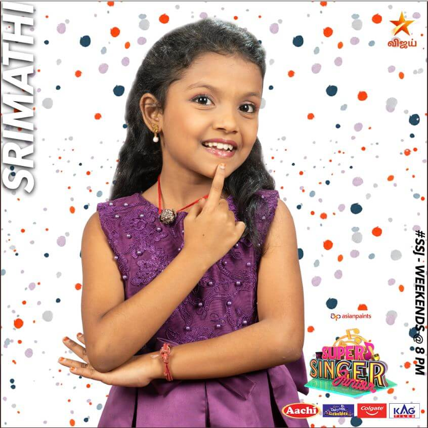 Srimathi Super singer Junior 7 Contestant 2020