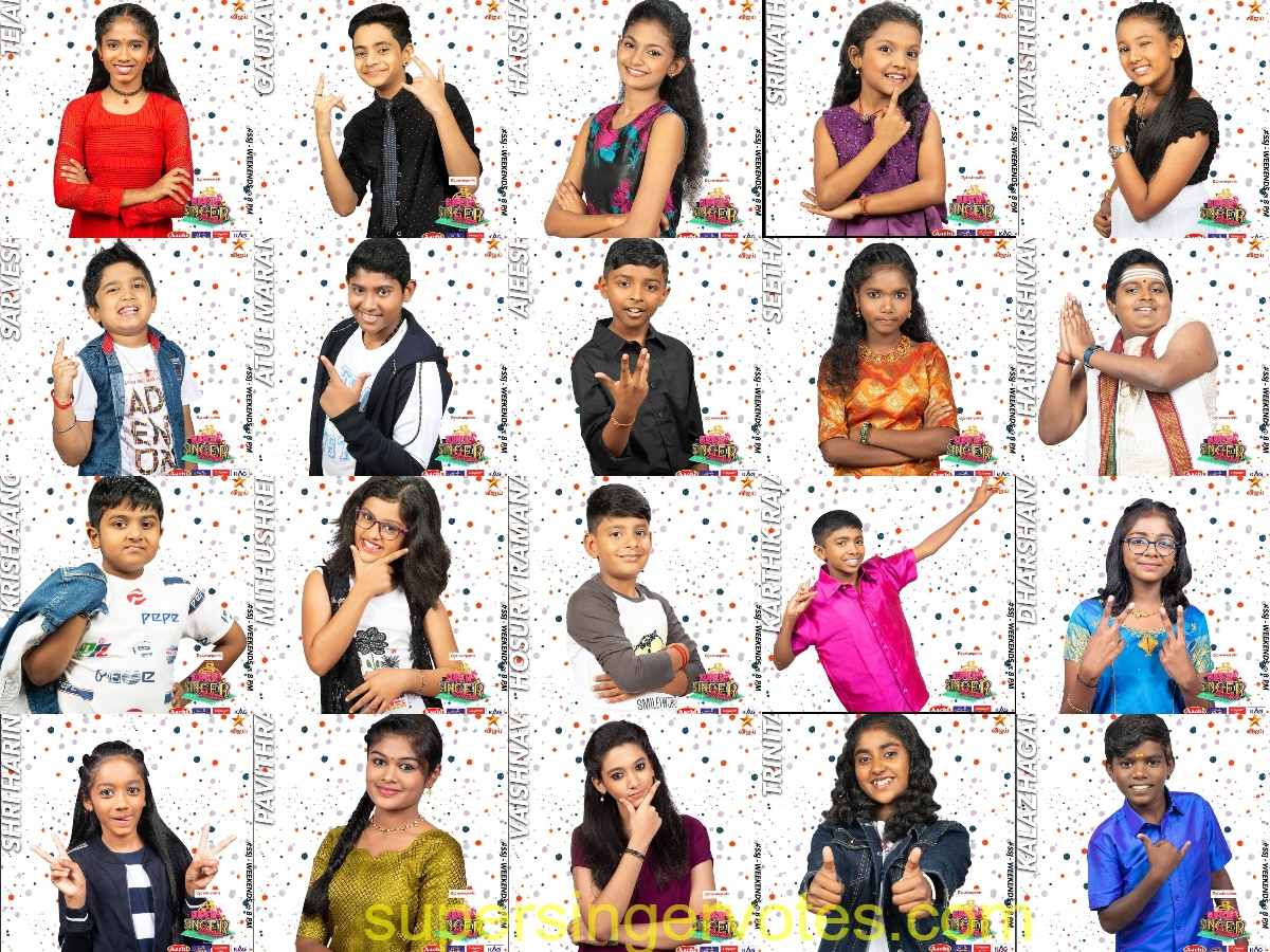 super singer junior 7 contestants 2020