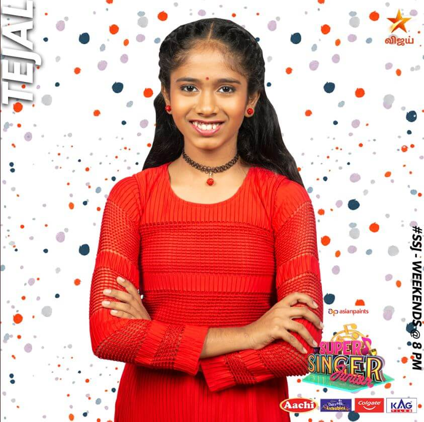 Tejal Super singer Junior 7 Contestant 2020