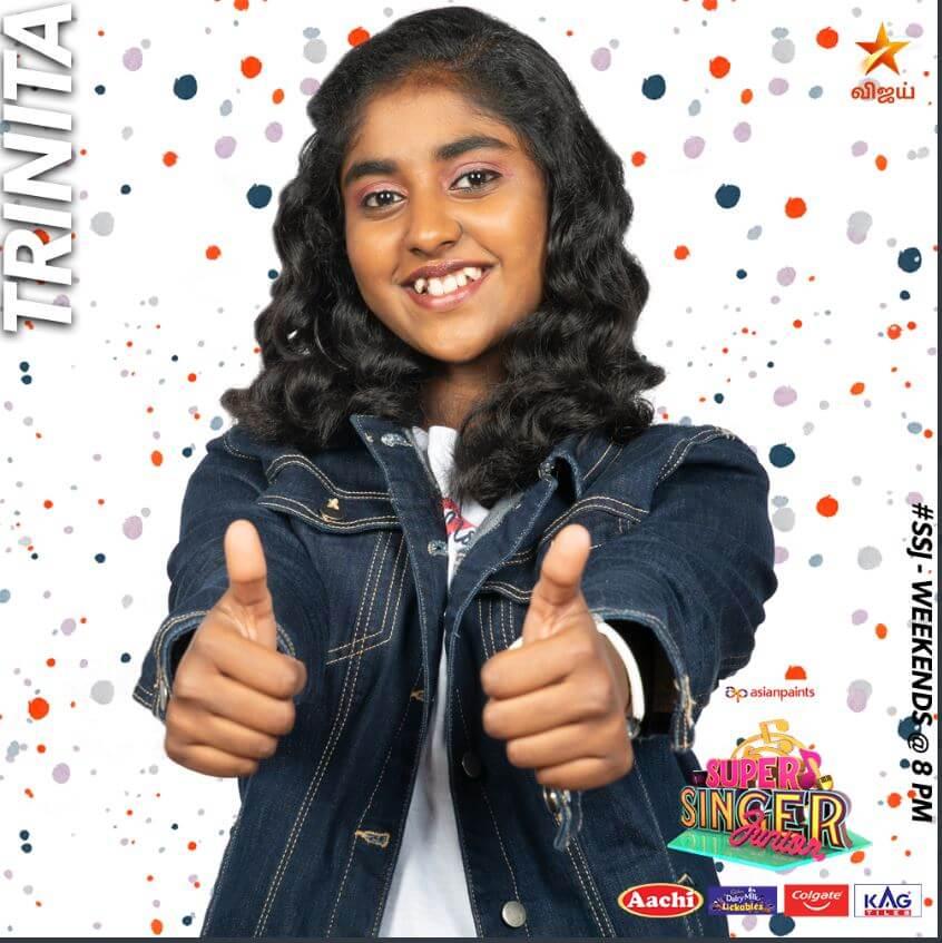 Trinita Super singer Junior 7 Contestant 2020