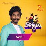Super Singer Vote Result for Balaji Sri