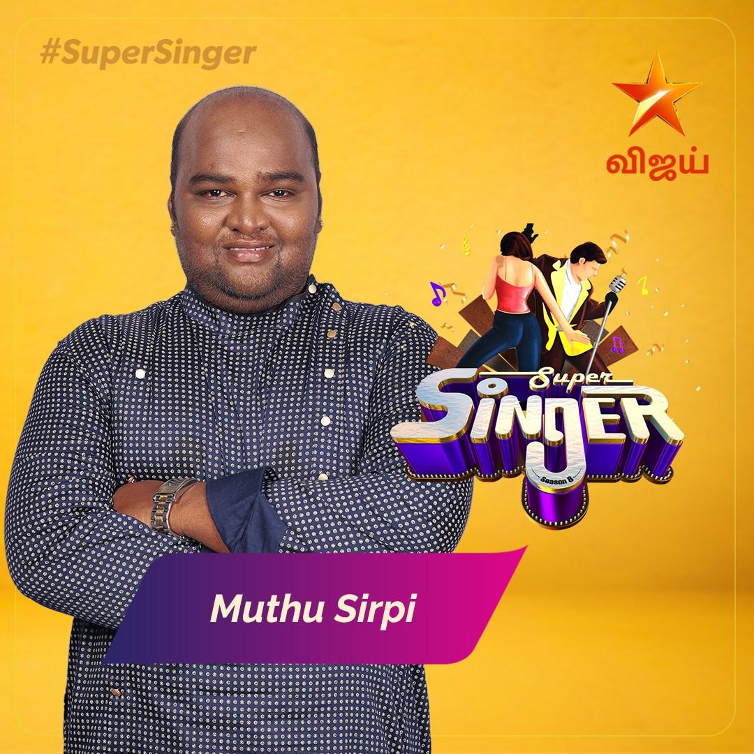 muthu sirpi Super singer Season 8 2021