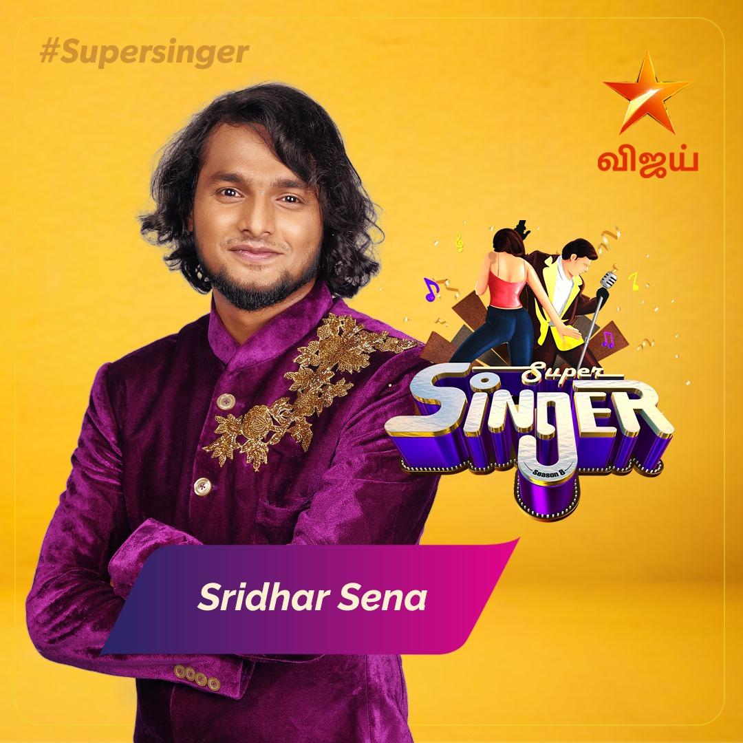 sridhar sena Super singer Season 8 2021