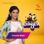 Super Singer Vote Result for Vrusha Balu